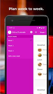 Plan Meals – MealPlanner 2