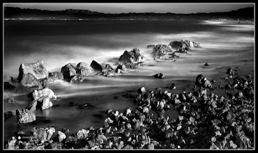 Photo: I add one more long exposure of the Catalan coast