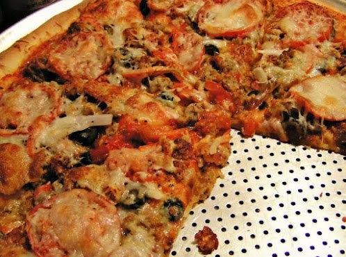 3-Meat Pizza