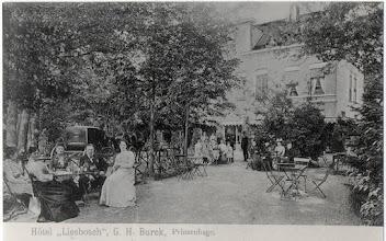 Photo: 1909  Liesbosch - Hotel Burck