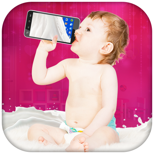 Baby Milk Simulator - Baby Drink Milk Prank Icon