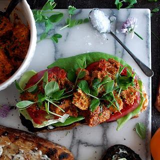Romesco Grilled Chicken BLT Sandwiches Recipe