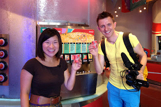 Photo: Sampling sodas from around the world at Epcot http://ow.ly/caYpY