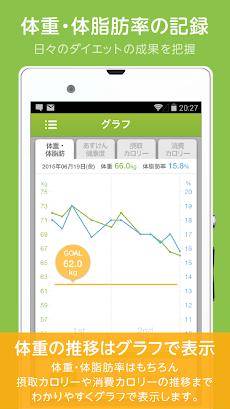 ダイエットアプリ「あすけん 」カロリー計算・食事記録・体重管理でダイエットのおすすめ画像5