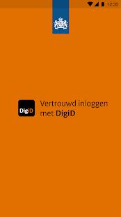 DigiD - náhled