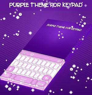 Purple Theme for Keypad - náhled