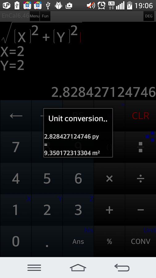 scientific calculator - screenshot