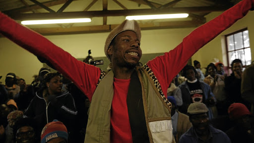 Standing tall: Makhasaneni community activist Mbhekiseni Mavuso had to go into hiding after his life was threatened. Picture: SUPPIED