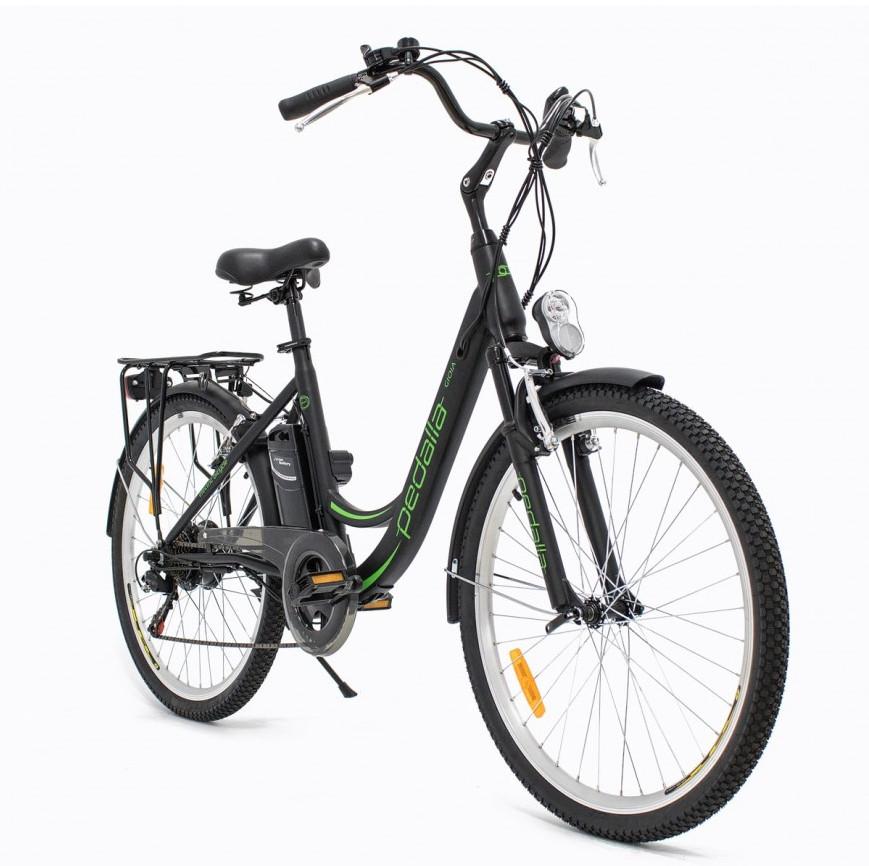 Uma bicicleta elétrica pode ser alugada por plano anual com pagamento a partir de R$ 166 reais mensais. (Fonte: Silium/Reprodução)