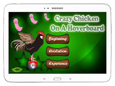 Crazy Chicken On A Hoverboard screenshot 9