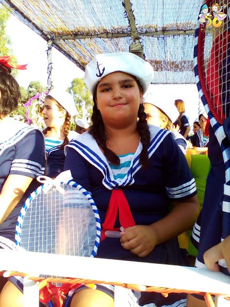 Vicky Mínguez navegó sobre un mar de flores