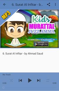 Kids Murattal MP3 Offline - Juz Amma - náhled