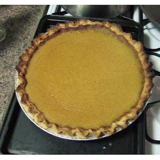 Jamaican-Spiced Pumpkin Pie.