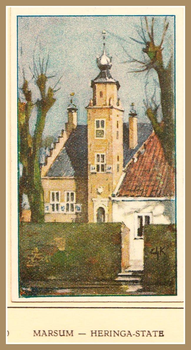 Photo: Plaatje uit het Verkadealbum ´Friesland´ uit 1921.