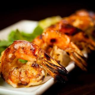 Cajun Grilled Shrimp.