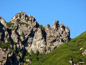 Photo: Skrajna Rywocińska Turnia (słow. Predný Oštep) – najniższa z trzech Rywocińskich Turni w grani Rywocin. http://pl.wikipedia.org/wiki/Skrajna_Rywoci%C5%84ska_Turnia
