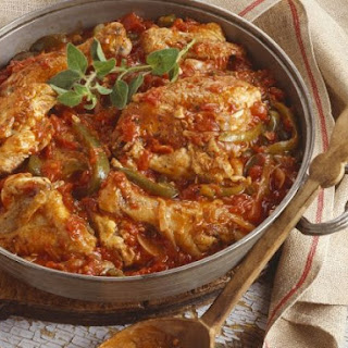 Italian Pepper and Chicken Stew