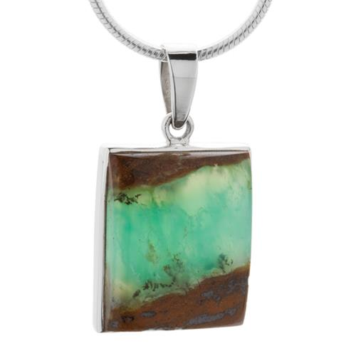 Photo: Made in Earth Creations continue to amaze with another eclectic pendant featuring Australian Chrysoprase!