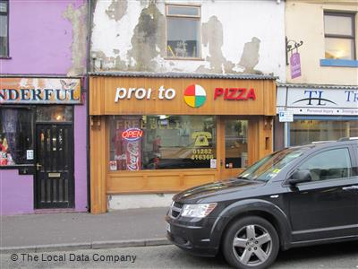 Pronto Pizza On Standish Street Take Away Food Shops In