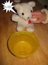 """Photo: """"Someone's been tasting my porridge,"""" cried Baby Bear, """"and she's eaten it all up!"""""""
