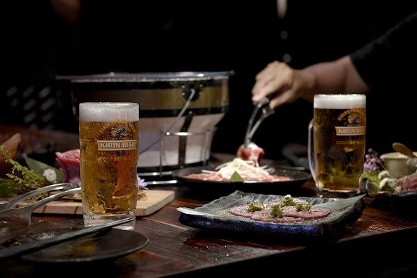 在台北東區,晚餐一起大口吃肉、喝點啤酒吧|吽燒肉 Grill&Bar 市民店