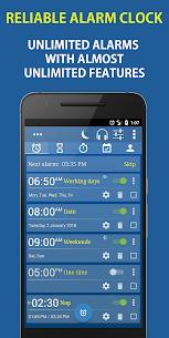 Alarm Clock & Timer & Stopwatch & Tasks & Contacts v6.1 build 157 [Paid] APK 1