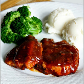Recipe for Slow Cooker Cajun BBQ Pork Steaks