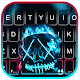 Neon Fire Purge Man Keyboard Theme Download on Windows