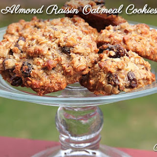 Oatmeal applesauce Raisin Cookies