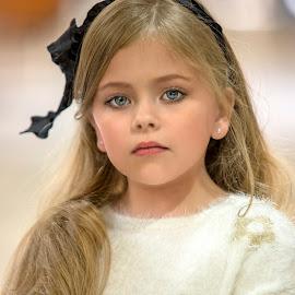Long Hair by Sylvester Fourroux - Babies & Children Child Portraits