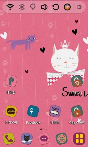 玩免費個人化APP|下載Sweet Little Kitties Theme app不用錢|硬是要APP
