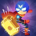 Stickman Destroy - Super Warriors Destruction icon