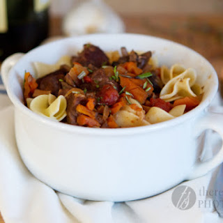 Slow Cooker Beef Provencal Stew.