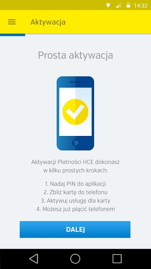 Planet Mobile HCE Wallet- screenshot