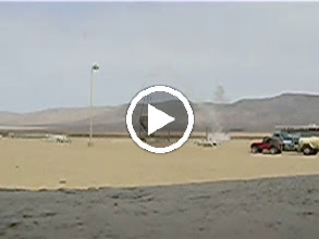 Video: UCSD second rocket which exploded in the middle and broke into two pieces.