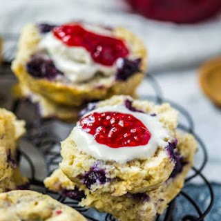 Blueberry Scones (Vegan + Gluten Free) Recipe