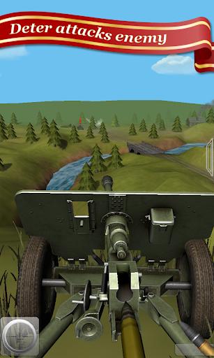 One man is The Man - Artillery Destroy Tanks  captures d'écran 2
