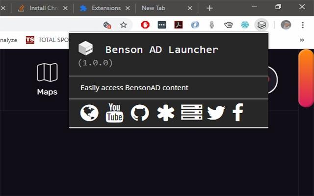 BensonAD Launcher
