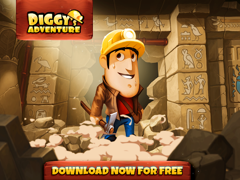 Diggy's Adventure APK screenshot thumbnail 6