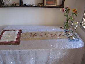 Photo: Esti & Eliyahu's Shabbat Table
