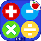 Math Practice Flash Cards PRO icon
