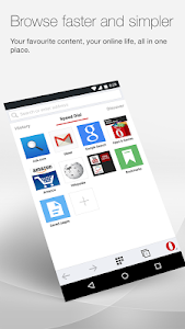 Opera browser for Android v21.0.1437.74904