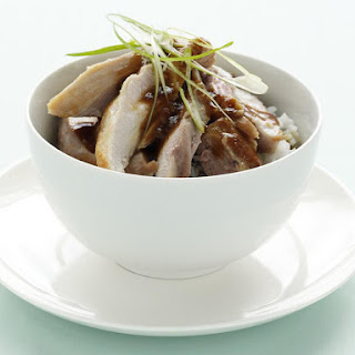 Chicken with Garlic Hoisin Sauce.