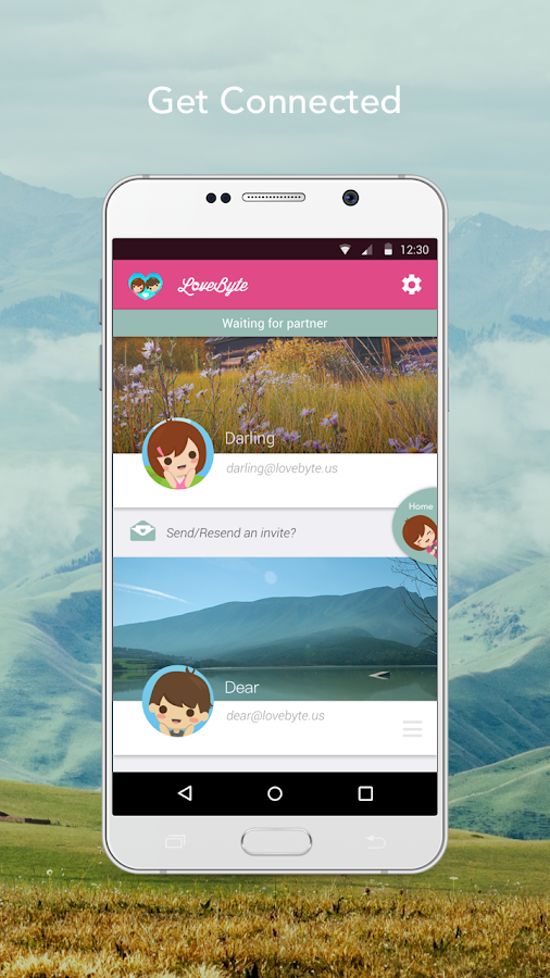 LoveByte - Relationship App- screenshot