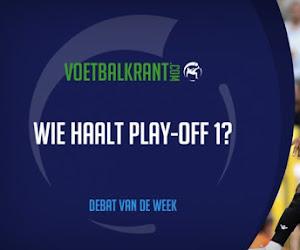 Debat van de week: wie haalt volgens jou play-off 1?