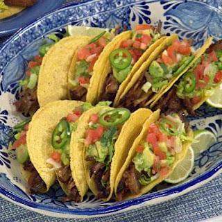 Beef Brisket Tacos.