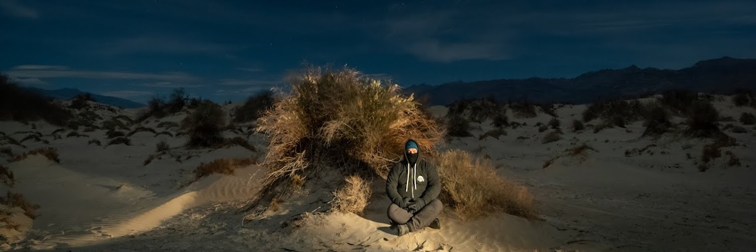 Synthesis: Night Photography, Meditation and Motion