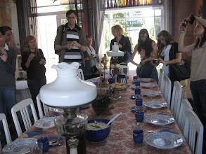 Photo: Rural dinning at Maritime Museum at Kasmu  village