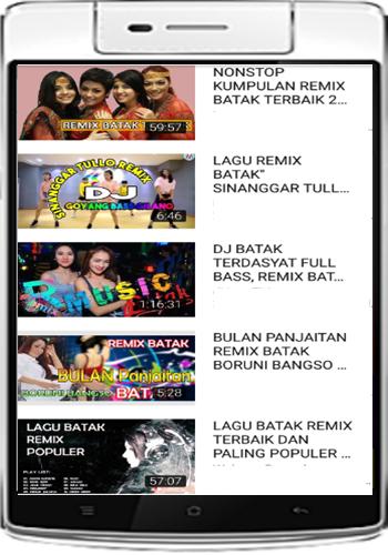 Lagu Batak Remix Terpopuler Voll 7 1.0.0 screenshots 1