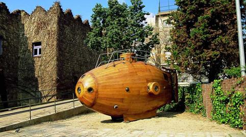 submarine barcelona